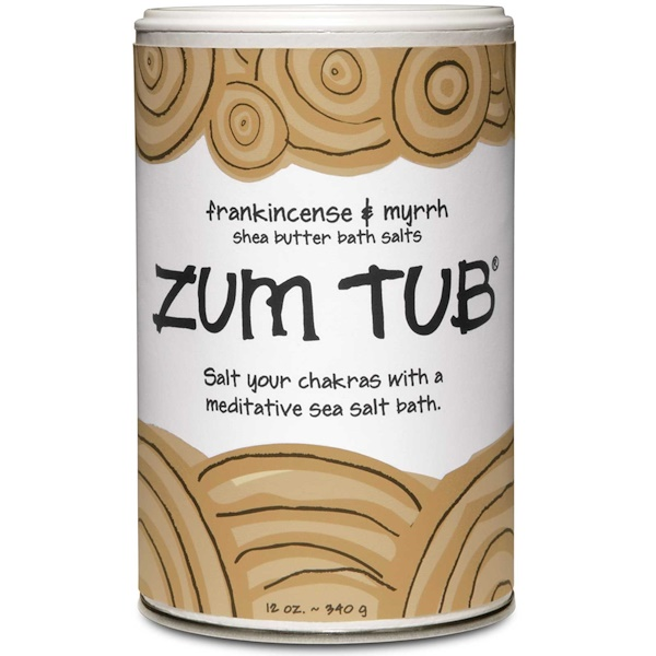 Indigo Wild, Zum Tub, Shea Butter Bath Salts, Frankincense & Myrrh, 12 oz (340 g) (Discontinued Item)