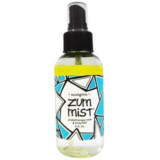 Indigo Wild, Zum Mist, Aromatherapy Room & Body Mist, Eucalyptus, 4 fl oz