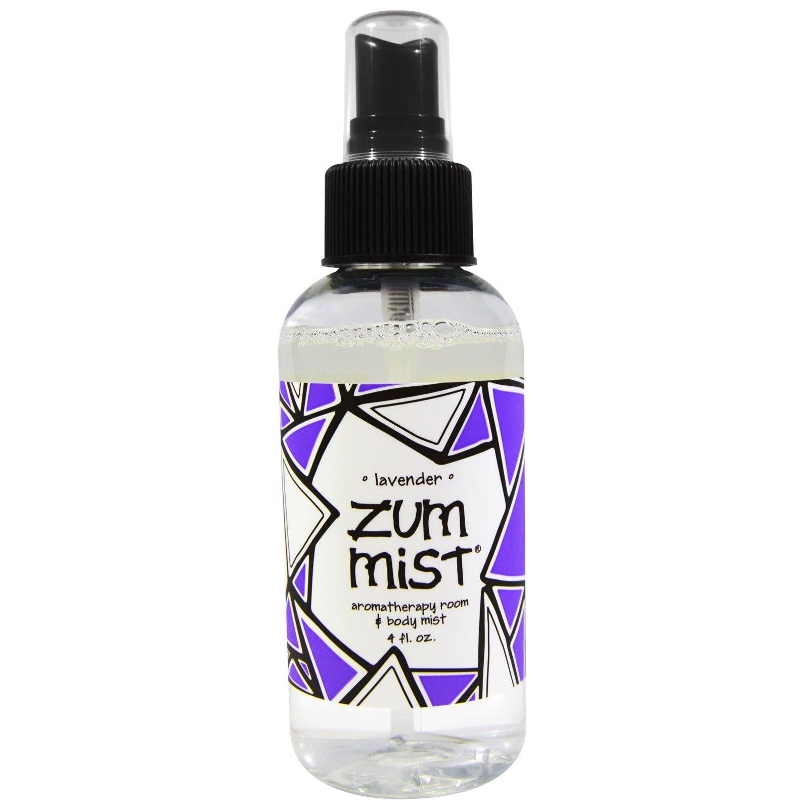 Indigo Wild, Zum Mist, ароматерапевтический аэрозоль для помещений и тела, лаванда, 4 жидкие унции