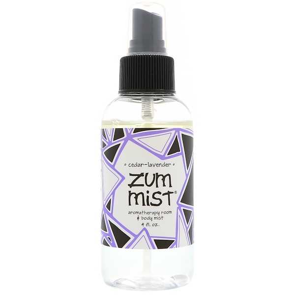 Indigo Wild, Zum Mist,房間和身體香薰噴霧,雪松薰衣草,4液量盎司