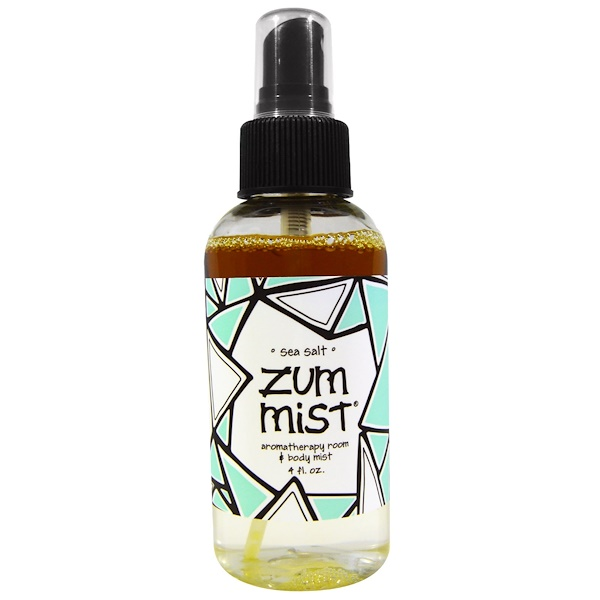 Zum Mist, Aromatherapy Room & Body Mist, Sea Salt, 4 fl oz