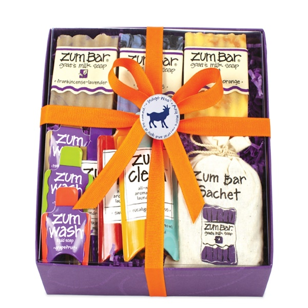 Indigo Wild, Zum Soap Lover's Gift Box, 10 Pieces (Discontinued Item)