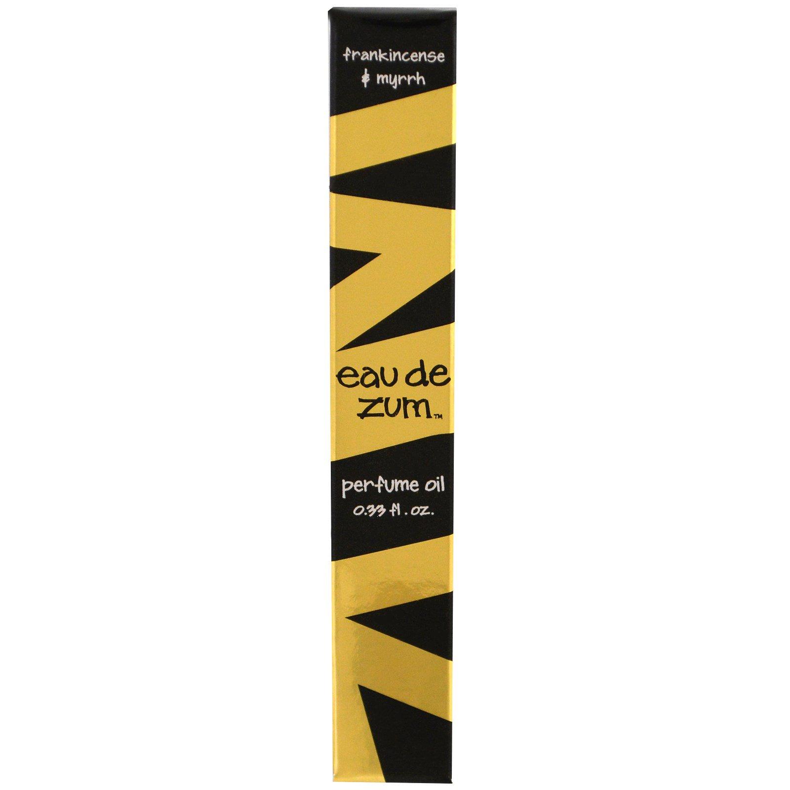 Indigo Wild, Eau De Zum, парфюмерное масло, ладан и мирра, 0,33 жидкие унции
