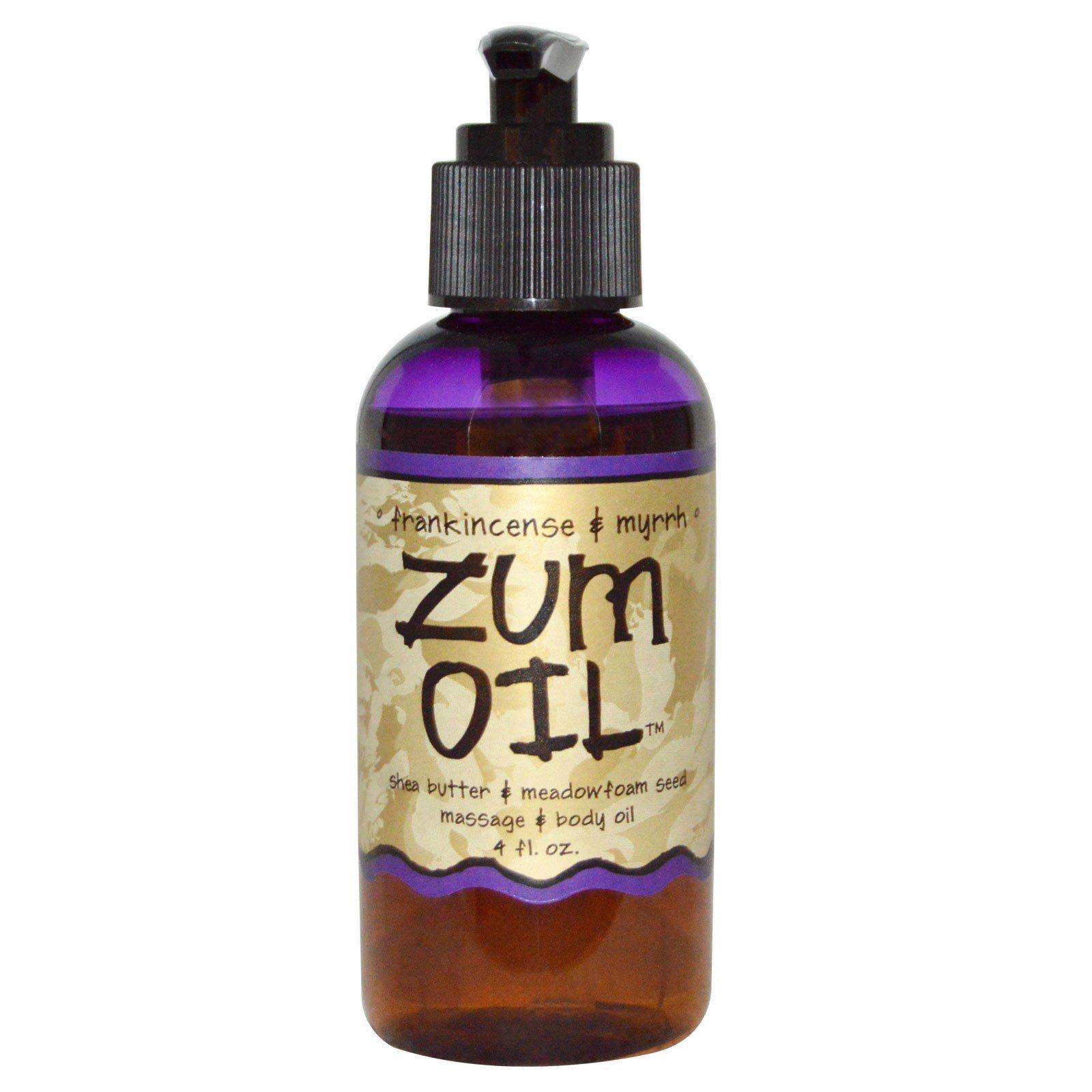 Indigo Wild, Frankincense & Myrrh Zum Oil 4 fl. oz