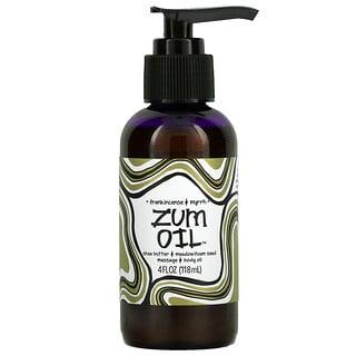 ZUM, Zum Oil, Frankincense & Myrrh, 4 fl oz (118 ml)