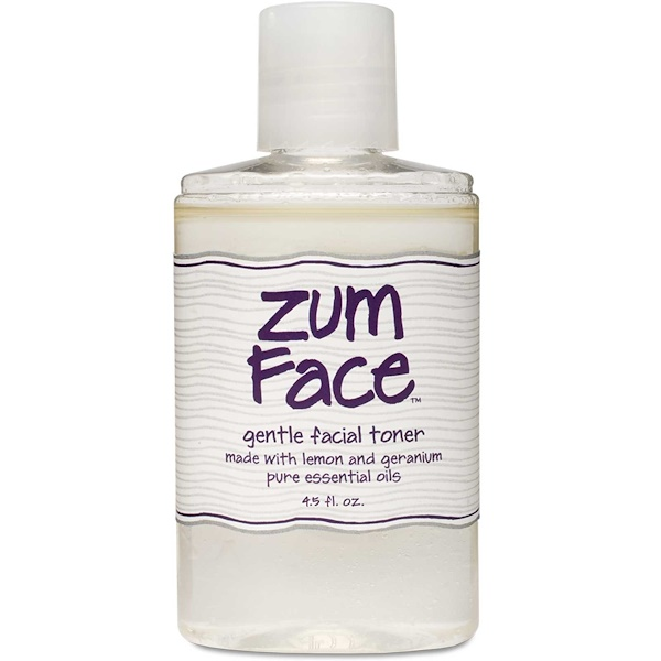 Indigo Wild, Zum Face, Gentle Facial Toner, Lemon and Geranium, 4.5 fl oz (Discontinued Item)