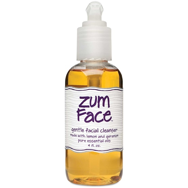 Indigo Wild, Zum Face, Gentle Facial Cleanser, Lemon and Geranium, 4 fl oz (Discontinued Item)