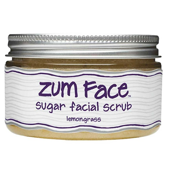 Indigo Wild, Zum Face, Sugar Facial Scrub, Lemongrass, 5 oz (Discontinued Item)