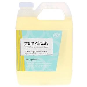 Индиго вилд, Zum Clean, Aromatherapy Laundry Soap, Eucalyptus-Citrus, 32 fl oz (.94 l) отзывы