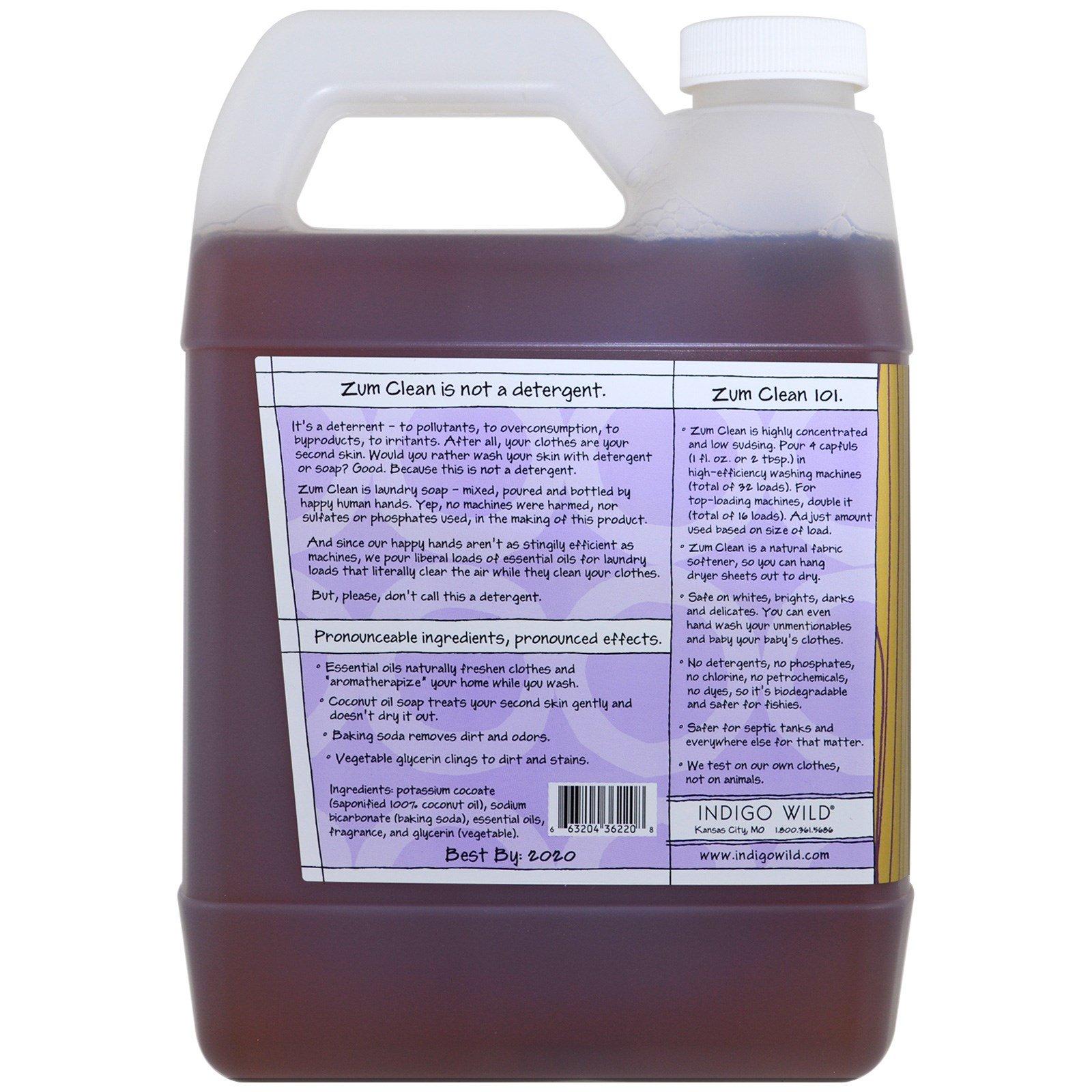 Best Laundry Detergent 2020.Indigo Wild Zum Clean Aromatherapy Laundry Soap