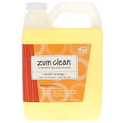 Indigo Wild, Zum Clean, Aromatherapy Laundry Soap, Sweet Orange, 32 fl oz (.94 L)