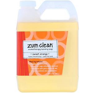 Индиго вилд, Zum Clean, Aromatherapy Laundry Soap, Sweet Orange, 32 fl oz (.94 L) отзывы покупателей