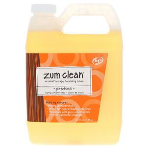 Индиго вилд, Zum Clean, Aromatherapy Laundry Soap, Patchouli, 32 fl oz (.94 L) отзывы