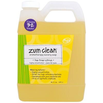 Купить Zum Clean, ароматерапевтическое хозяйственное мыло, чайное дерево и цитрус, 0, 94 л (32 жидких унции)