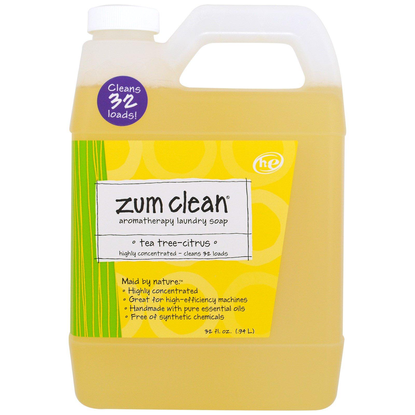 Indigo Wild Zum Clean Aromatherapy Laundry Soap Tea Tree