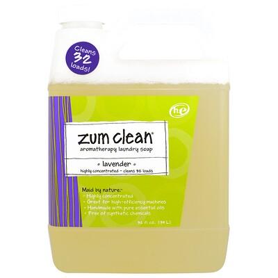 Купить Zum Clean, ароматерапевтическое хозяйственное мыло, лаванда, 32 жидкие унции (0, 94 л)