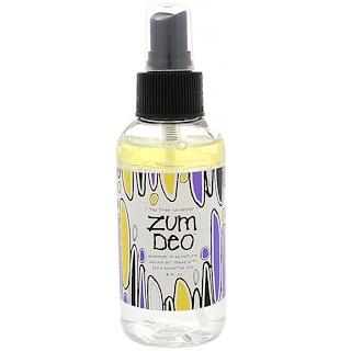 Indigo Wild, Zum Deo, Aluminum-Free Natural Deodorant, Tea Tree-Lavender, 4 fl oz