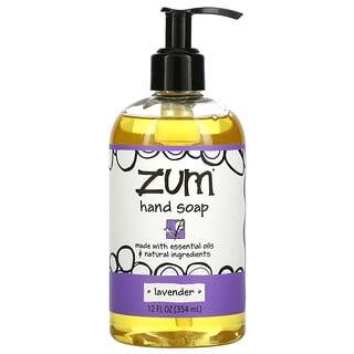 ZUM, Zum Hand Soap, Lavender, 12 fl oz (354 ml)
