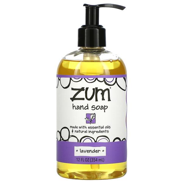 Zum Hand Soap, Lavender, 12 fl oz (354 ml)