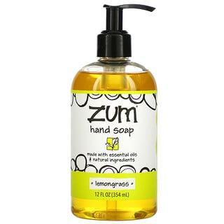 ZUM, Zum Hand Soap, Lemongrass, 12 fl oz (354 ml)