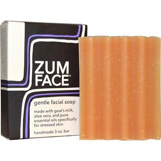 Indigo Wild, Zum Face, Gentle Facial Bar Soap, 3 oz