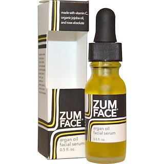 Indigo Wild, Zum Face, Argan Oil Facial Serum, 0.5 fl oz