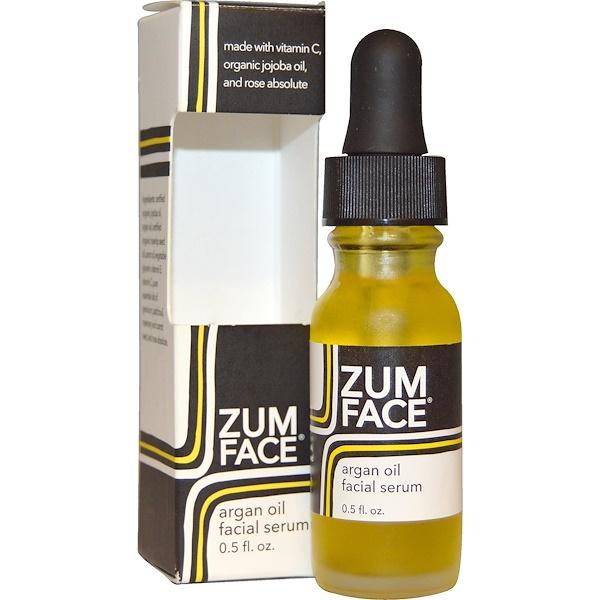 Indigo Wild, Zum Face, Argan Oil Facial Serum, 0.5 fl oz (Discontinued Item)
