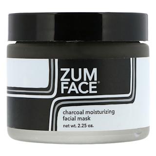 Indigo Wild, Zum Face, увлажняющая маска с древесным углем для лица, 2,25 унции