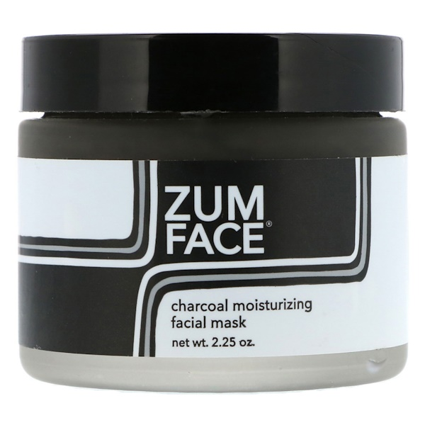 Indigo Wild, Zum Face, Charcoal Moisturizing Facial Mask, 2.25 oz