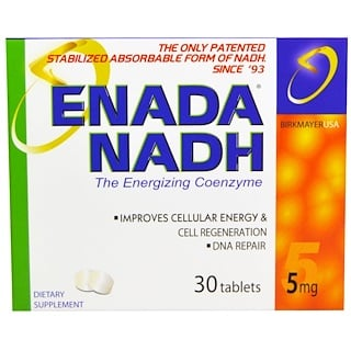 Co - E1, Enada NADH, 5 mg, 30 Tabletten
