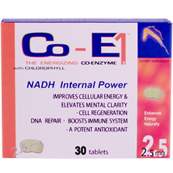 ENADA, NADH Internal Power, 2.5 mg, 30 Tablets (Discontinued Item)
