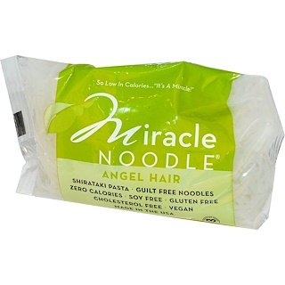 Miracle Noodle, Angel Hair, Shirataki Pasta, 7 oz (198 g)