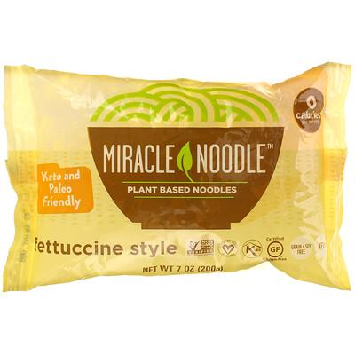 Купить Miracle Noodle Fettuccine Style, 7 oz (200 g)