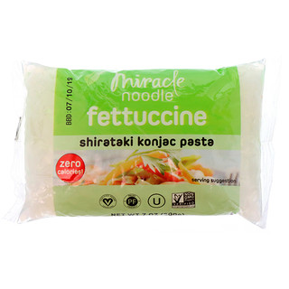Miracle Noodle, Shirataki Konjac Pasta, Fettuccini, 7 oz (200 g)