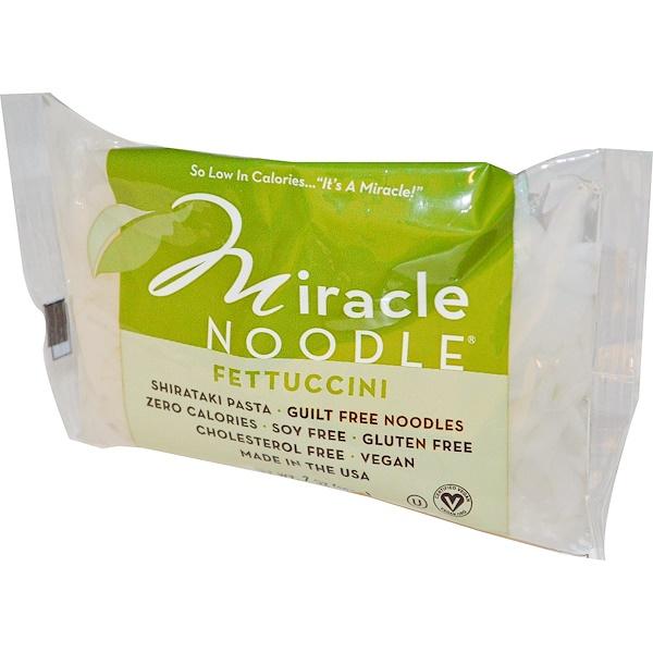 Miracle Noodle, 白瀧麵食,意大利寬麵條 ,7盎司(198克)