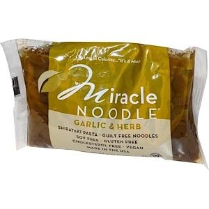Миракле Ноодле, Garlic & Herb, Shirataki Pasta, 7 oz (198 g) отзывы