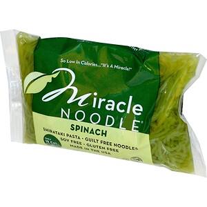 Миракле Ноодле, Spinach, Shirataki Pasta, 7 oz (198 g) отзывы покупателей