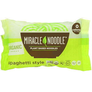 Miracle Noodle, Organic Spaghetti, 7 oz (200 g)