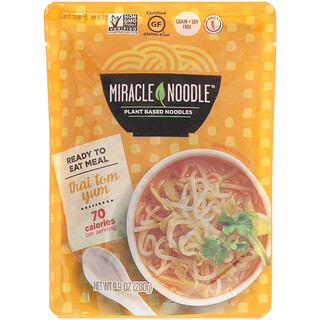 Miracle Noodle, Ready-to-Eat Meal, Thai Tom Yum, 9.9 oz (280 g)