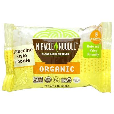 Купить Miracle Noodle Organic Fettuccine Style Noodle, 7 oz (200 g)