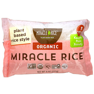 Miracle Noodle, Organic Miracle Rice, 8 oz (227 g)