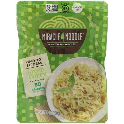 Miracle Noodle Готовый продукт, зеленый карри, 280г (9, 9унций)  - купить со скидкой