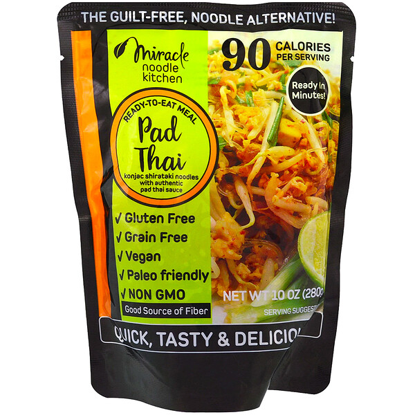 Ready-to-Eat Meal, Pad Thai, 10 oz (280 g)