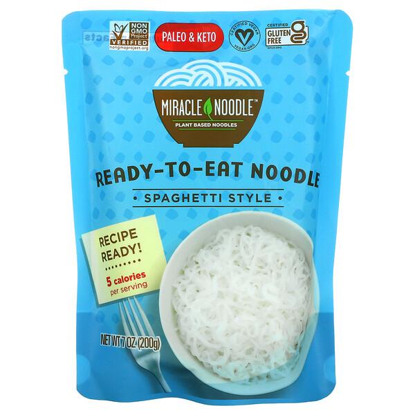 Ready-to-Eat Noodle, Spaghetti Style, 7 oz (200 g)