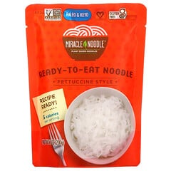 Miracle Noodle, 即食面條,寬面,7 盎司(200 克)