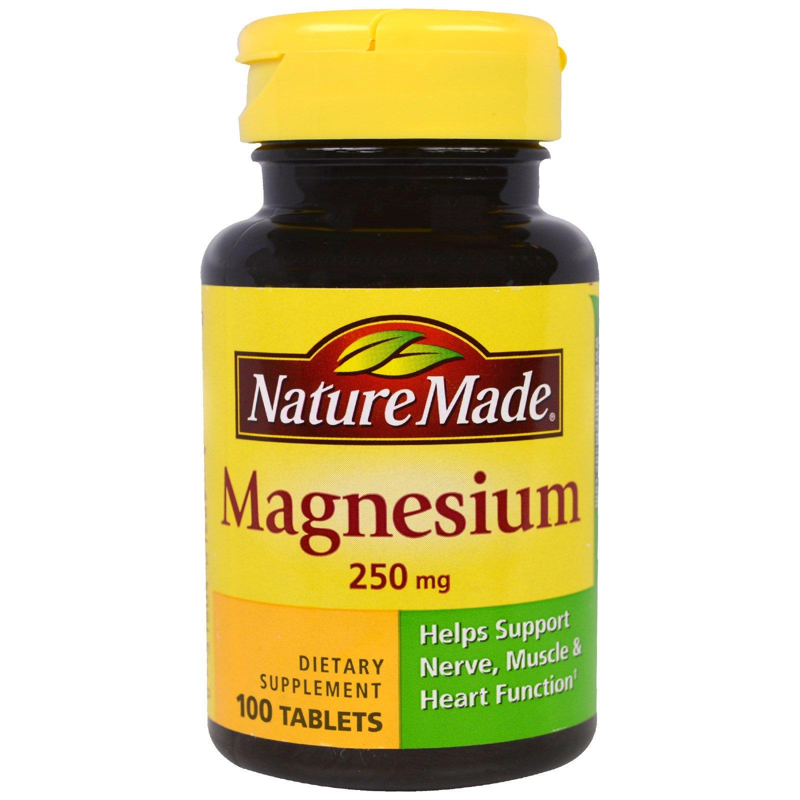 Nature Made Magnesium  Mg