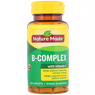 Nature Made, B-Complex with Vitamin C, 100 Caplets