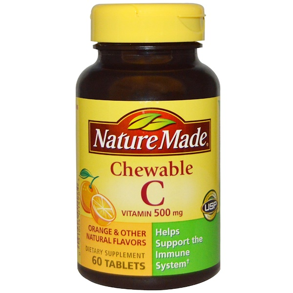 Nature Made Vitamin C Chewable Mg