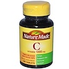 Nature Made, Vitamin C, 1000 mg, 60 Tablets