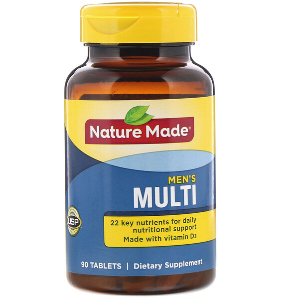 Nature Made, Men's Multi, 90 Tablets